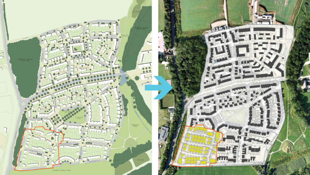 Alison Brooks Architects _ Newhall Be _ Harlow Essex _ Masterplan Diagram