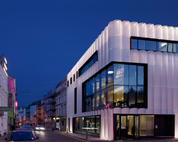 Alison Brooks Architects _ Quarterhouse Performing Arts & Business Centre _ Folkestone _ Photo Night