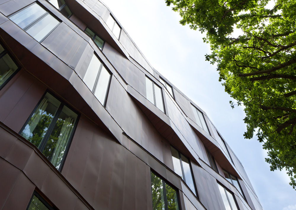 Alison Brooks Architects _ Accordia _ Brass Building _ Detail Rear Terrace