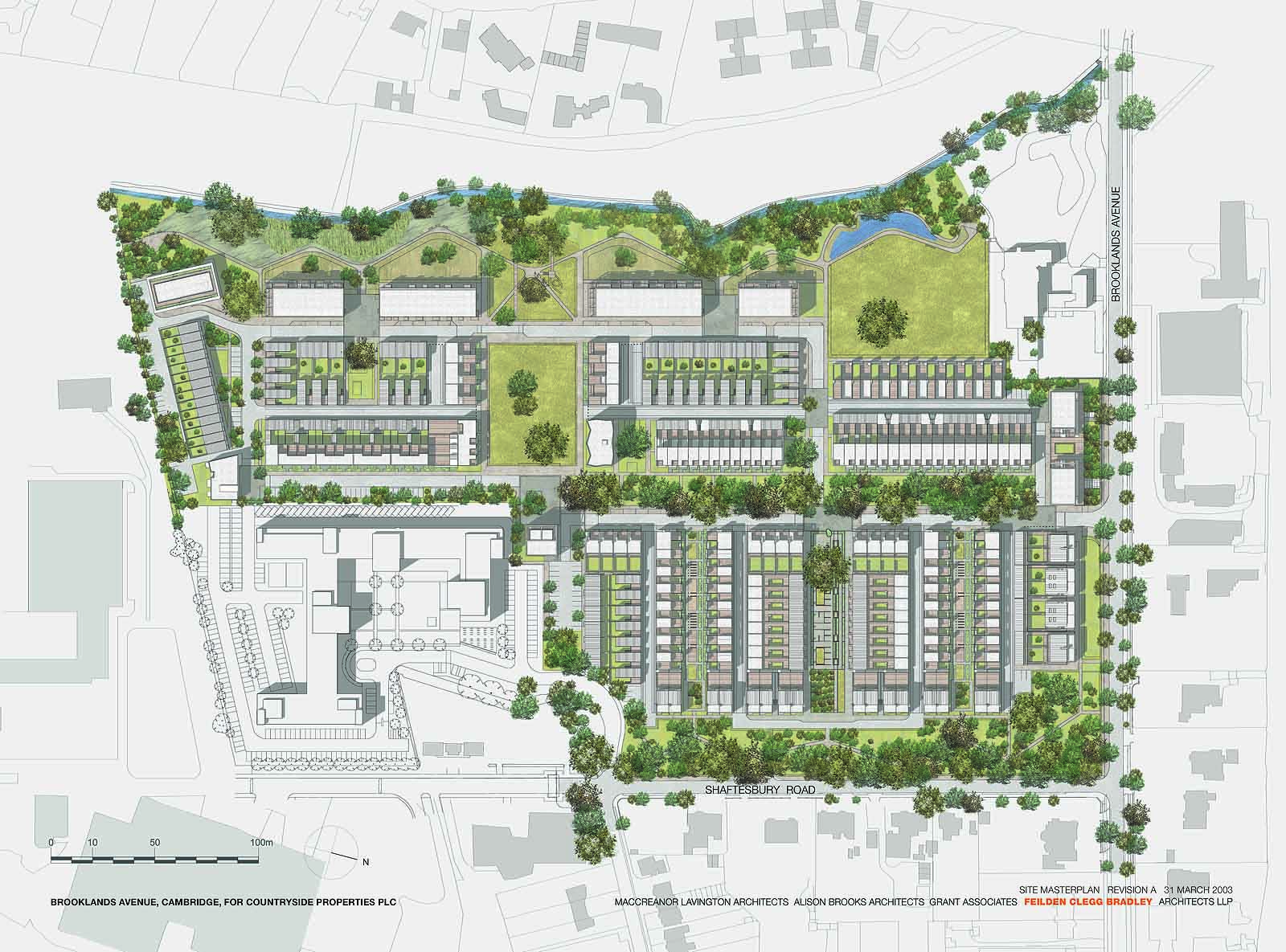 Accordia masterplan alison brooks architects for Best housing projects