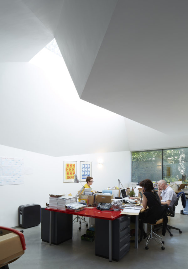 Alison Brooks Architects _ Lens House _ Photo _ Interior Skylight