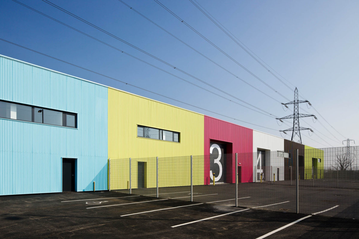 Alison Brooks Architects _ Rainham _ Wildspace Warehouse _ Exterior Closer Image
