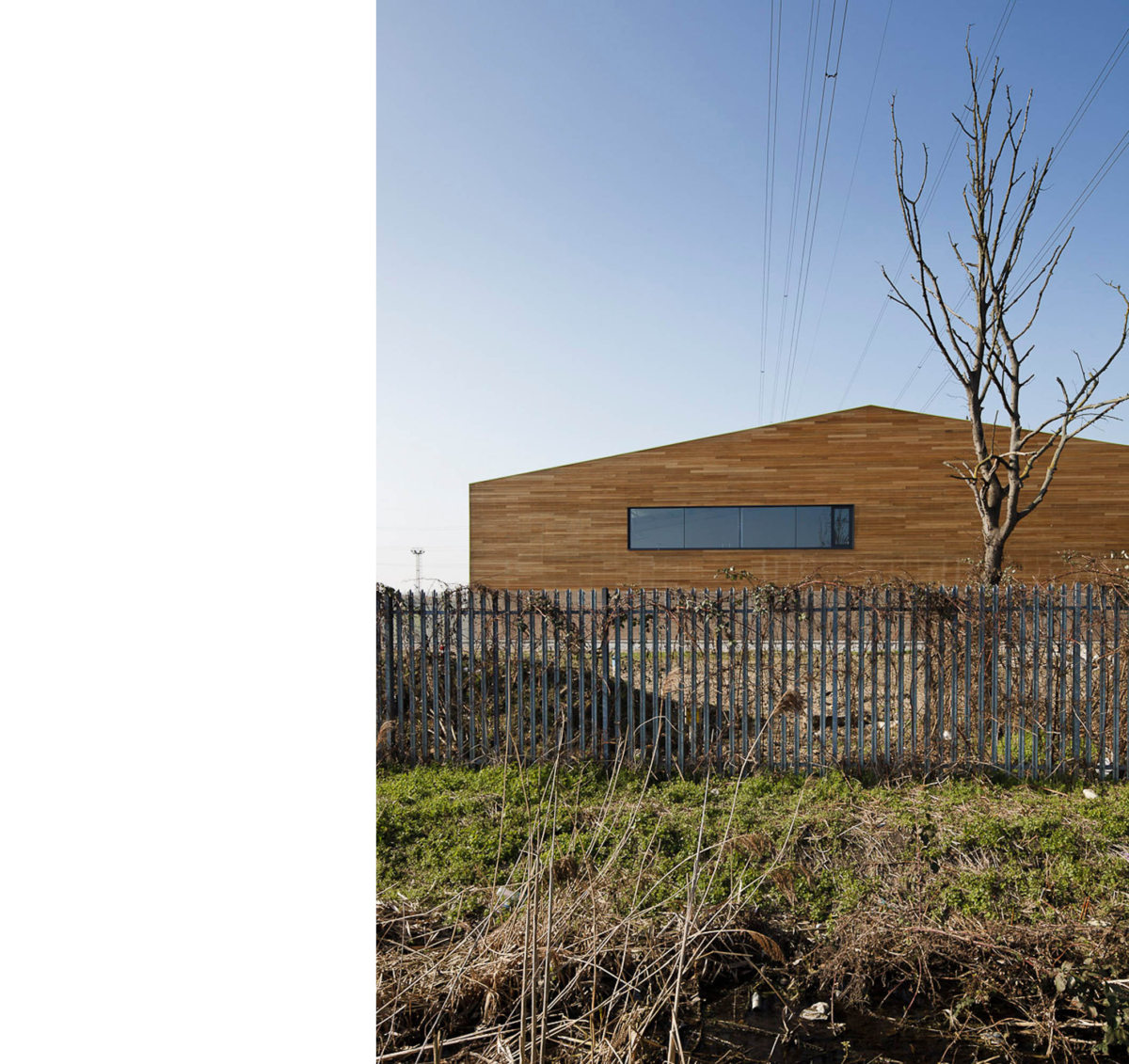 Alison Brooks Architects _ Rainham _ Wildspace Warehouse _ Photo End