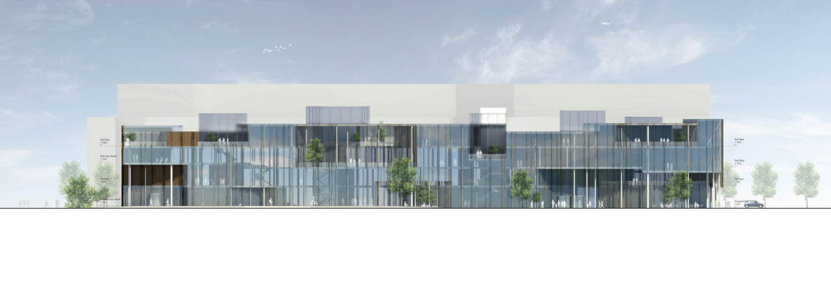 Alison Brooks Architects _ Helsinky Central Library _ Elevation Main Facade