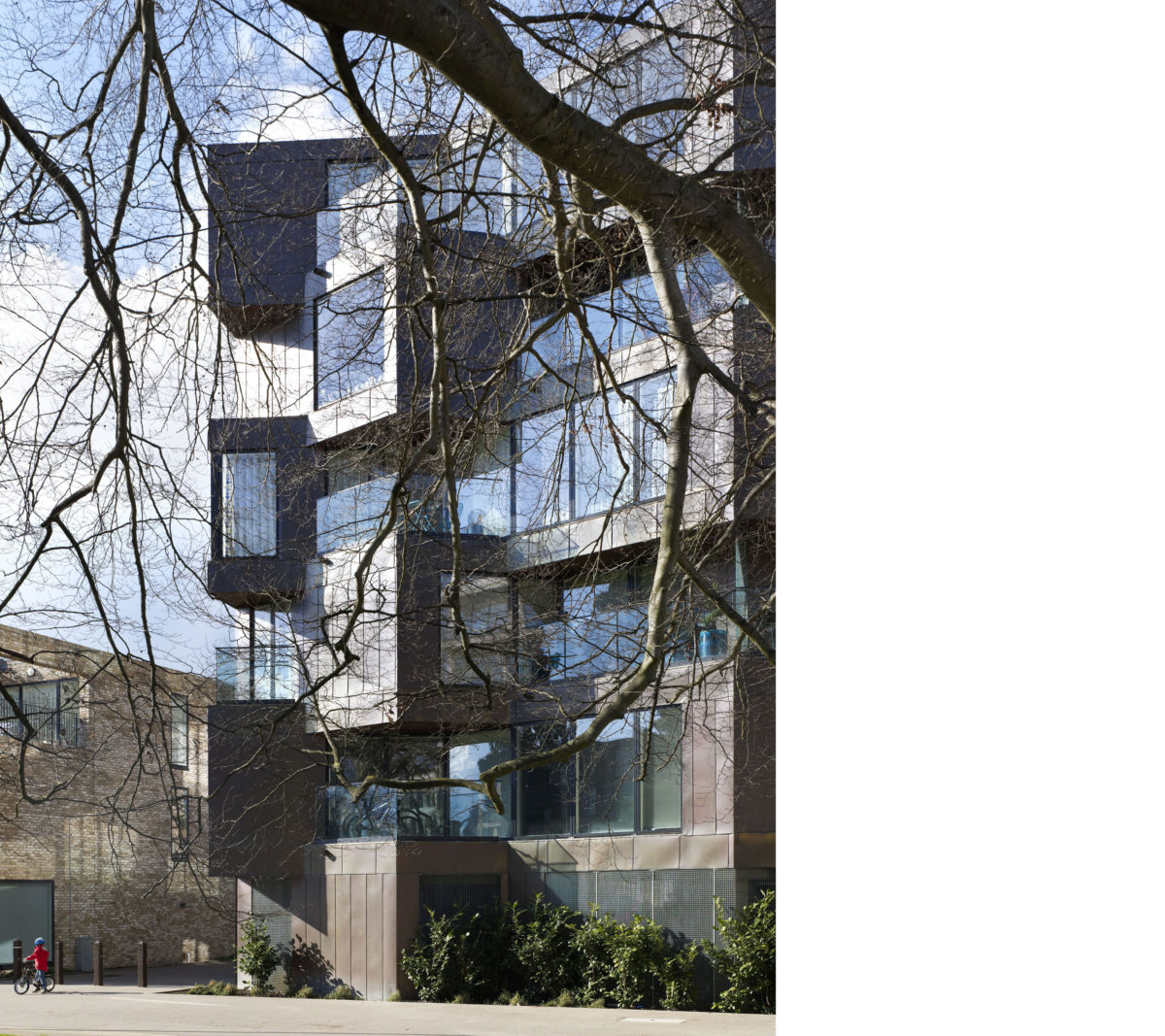 Alison Brooks Architects _ Accordia _ Brass Building _ Front Facade 2