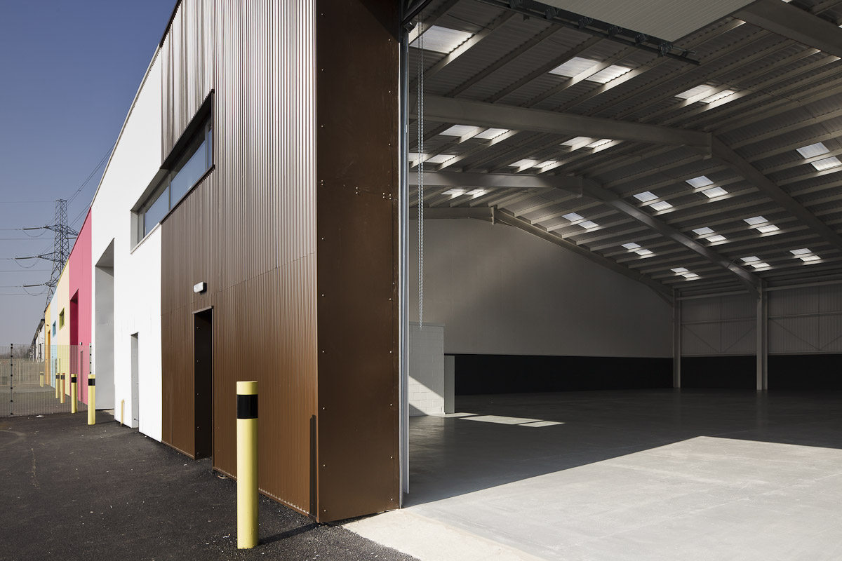 Alison Brooks Architects _ Rainham _ Wildspace Warehouse _ Inside Outside