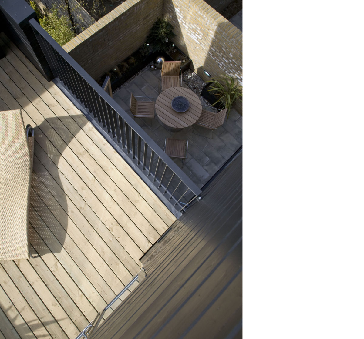 Alison Brooks Architects _ Newhall Be _ Harlow Essex _ Photo Balcony Downwards