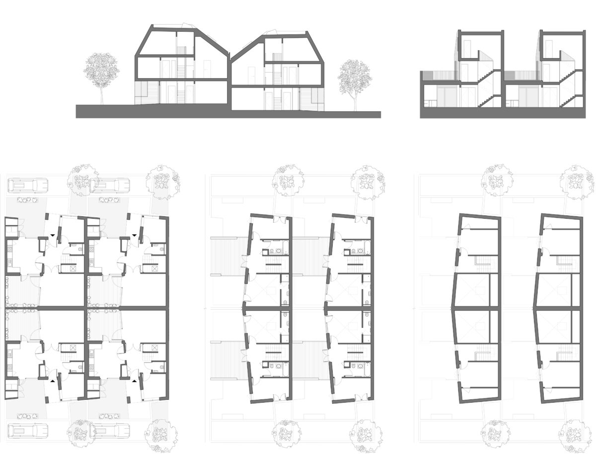 Sht-17 [Courtyard House - 03 Roof Plan (Without Key)]