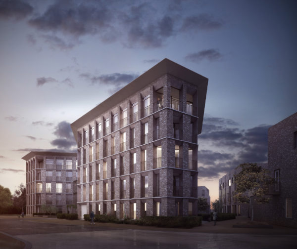 Alison Brooks Architects _ North West Cambridge Development _ Visualisation Veteran Oak Apartments 1