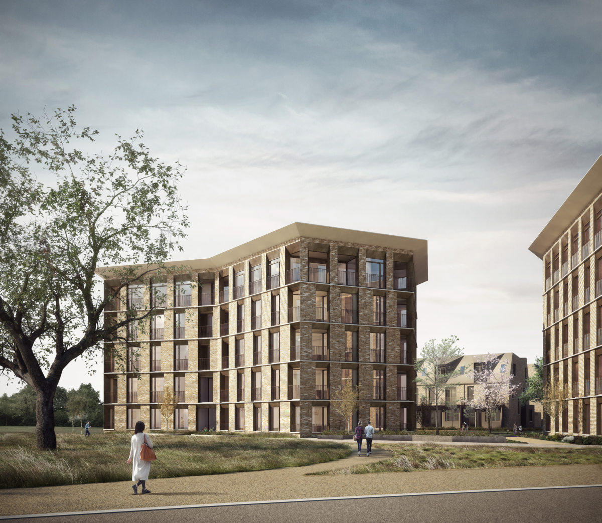 Alison Brooks Architects _ North West Cambridge Development _ Visualisation Veteran Oak Apartments 2