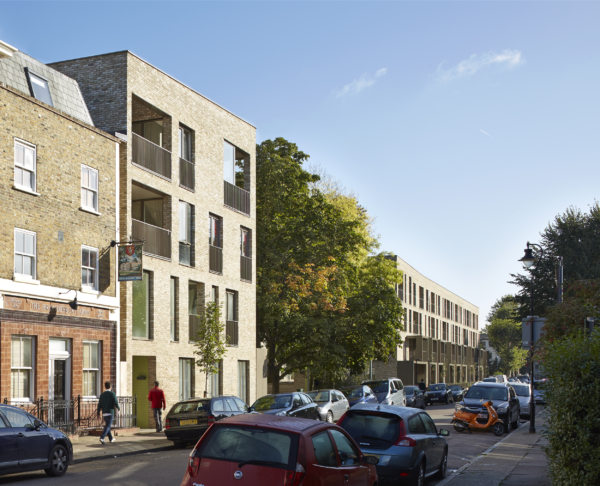 Alison Brooks Architects _ Ely Court _ South Kilburn Estate Regeneration _ Photo Chichester Road Eastwards 3