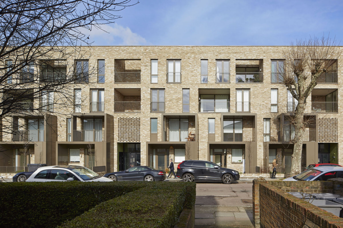 Ely Court By Alison Brooks Architects Photographed by Paul Riddl