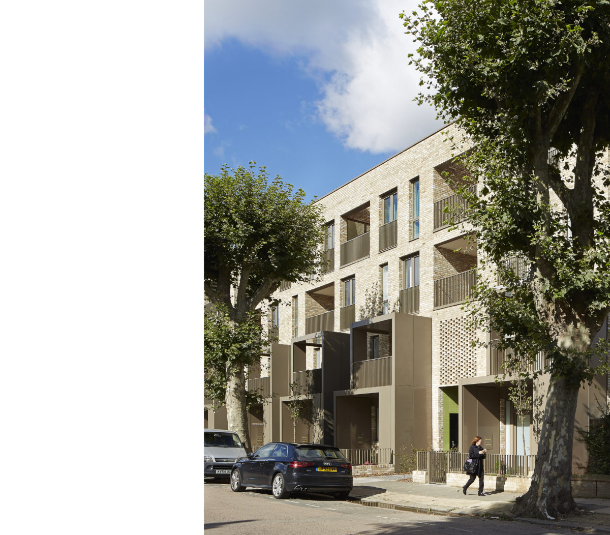 Alison Brooks Architects South Kilburn Estate photographed by Pa