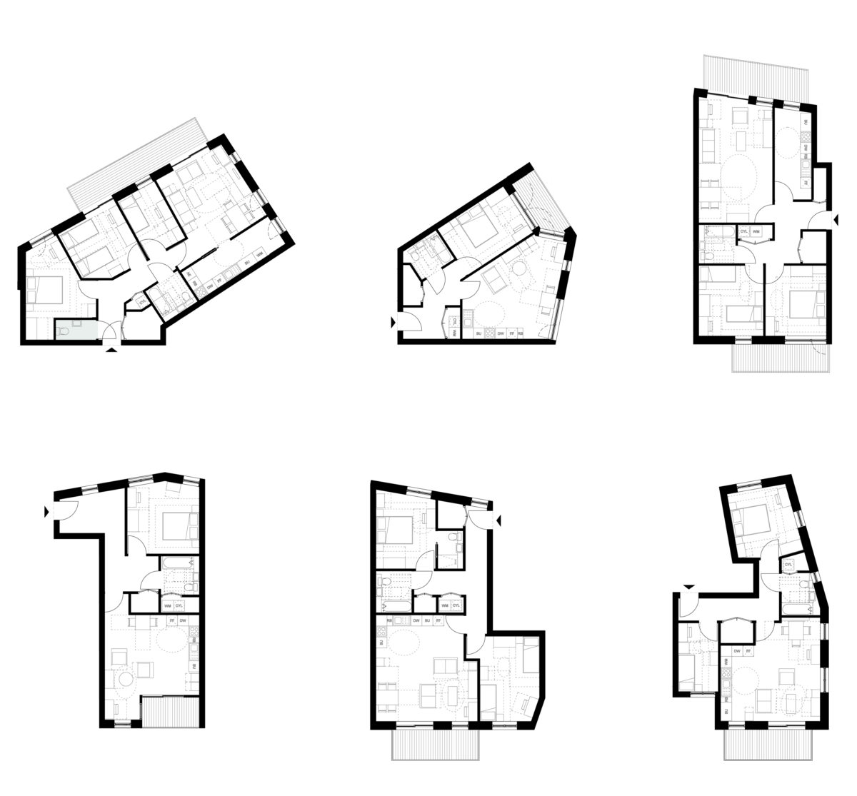 2365_A_XX_2003 - 5.3 block-residential layout type 3 - REV01